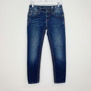 Miss Me   Blue Skinny Jeans   26